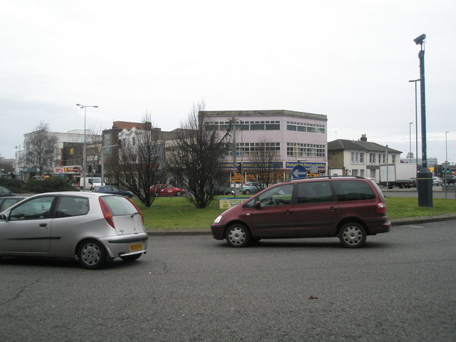 Commercial Road roundabout