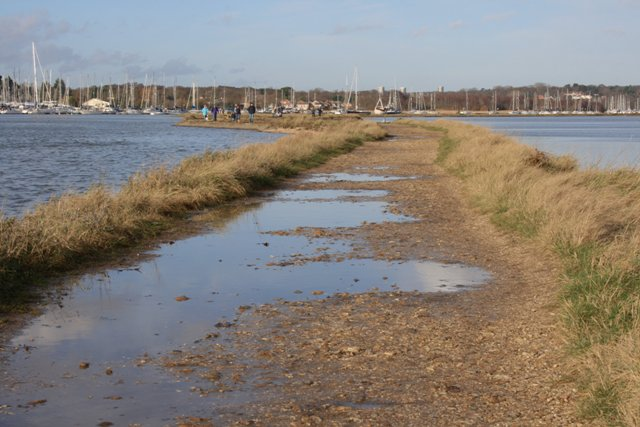 Footpath Along Bunny Meadows