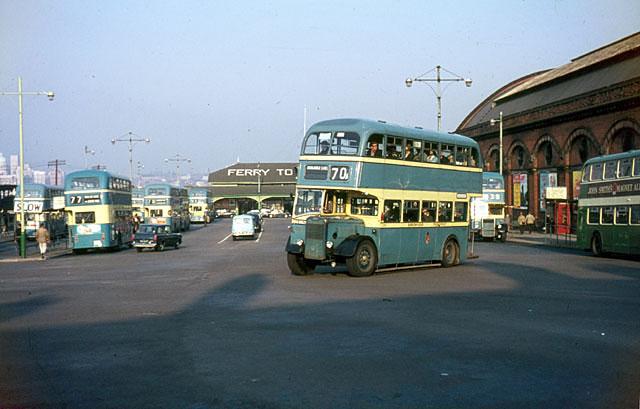 Woodside Ferry terminal, 1966