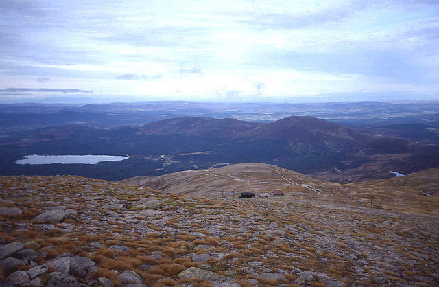 Northern slopes of Cairn Gorm