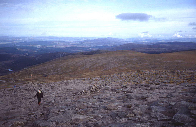 North side of Cairn Gorm summit