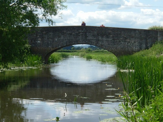 Bridge over the River Isle near Midelney