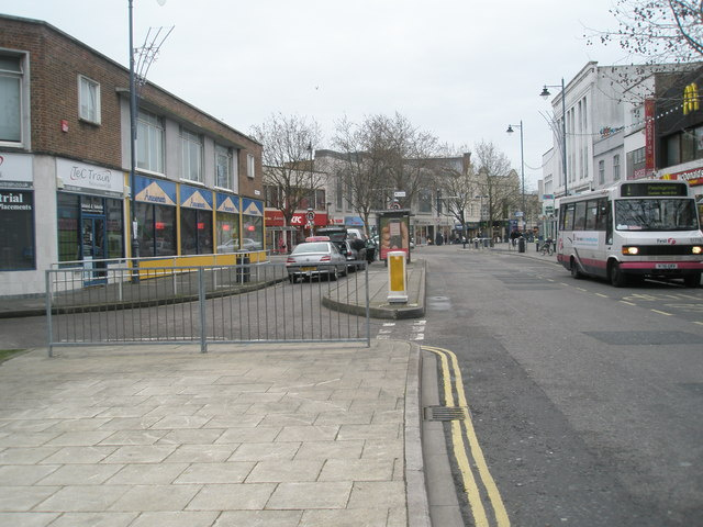 Northern end of Commercial Road
