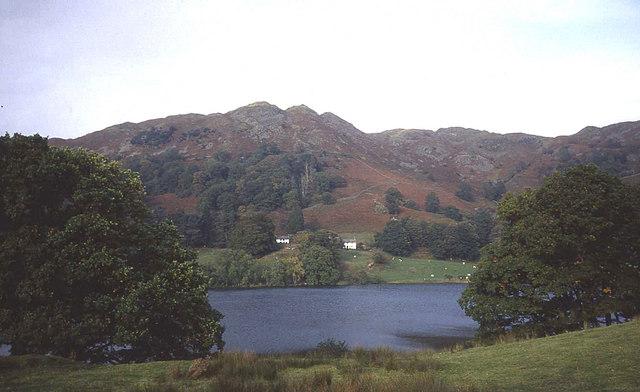 Loughrigg Tarn and Logugrigg Fell