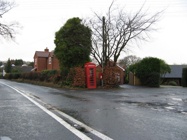 Telephone Box and Postbox