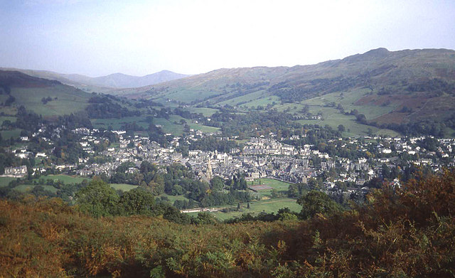 Ambleside from Loughrigg Brow