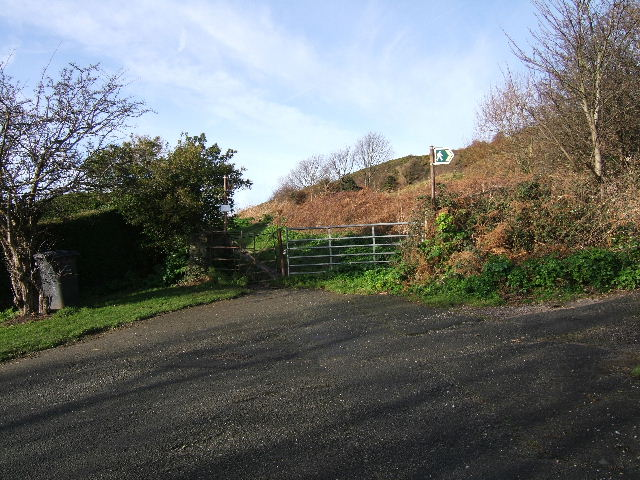 The Mountain gate, Vardre, Deganwy