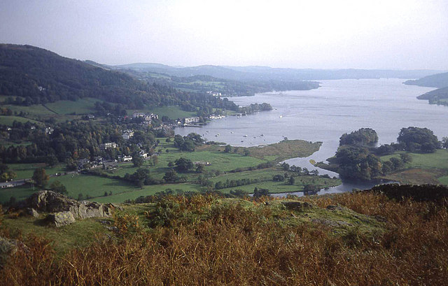 Windermere from Loughrigg Brow