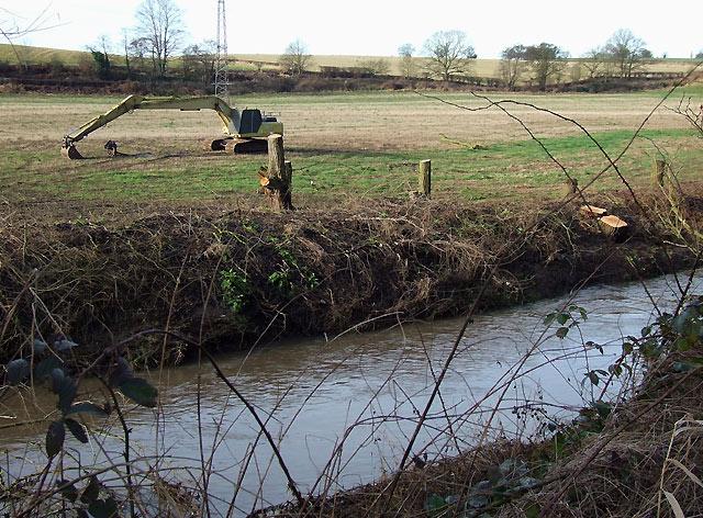 Smestow River at Ashwood, Staffordshire
