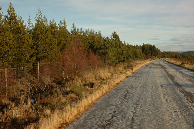 Old A9 road