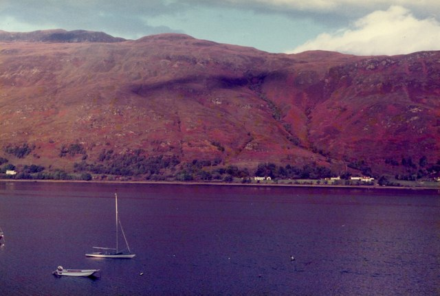 Fort William - Loch Linnhe viewed from Car Park