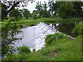 "NT5274 : ""The Cascades"" Weir on River Tyne adjacent to Amisfield Park by James Denham"