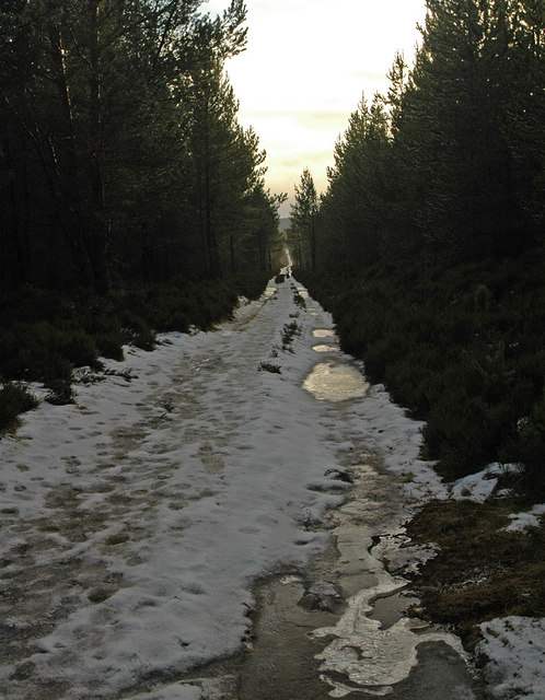 Wade's Road near Carrbridge