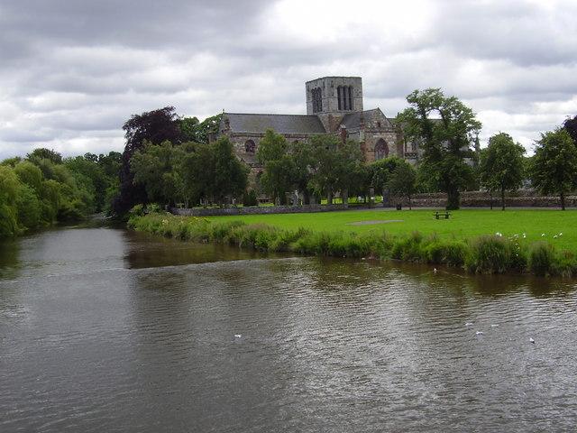 St. Mary's Church, Haddington, East Lothian, Scotland.