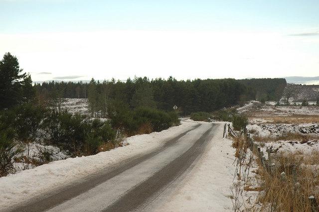 Minor road near Abriachan