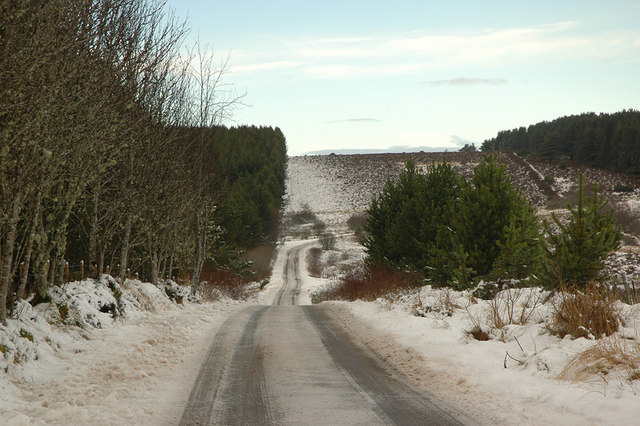 Minor road from Abriachan to Foxhole