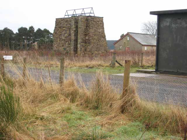 Assorted buildings at Redesdale Camp