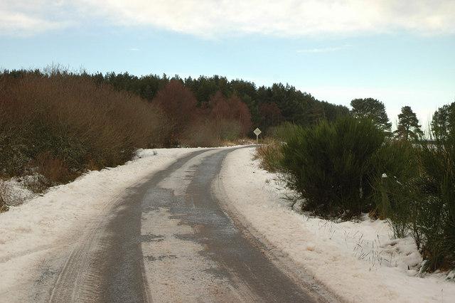 Abriachan to Foxhole road