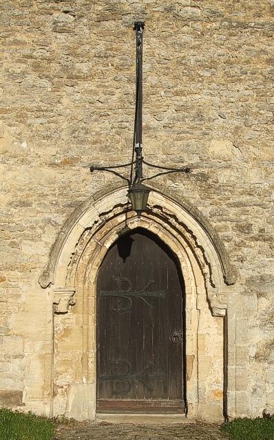 Door, St. Leonards, Grendon Underwood