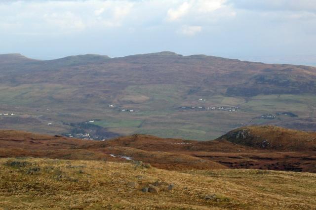 High moorland on Beinn na Greine