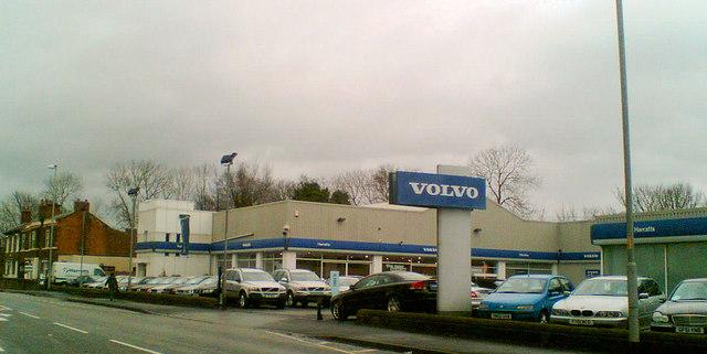 Volvo car dealership Sandal