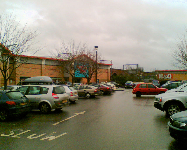 Cathedral retail park Wakefield