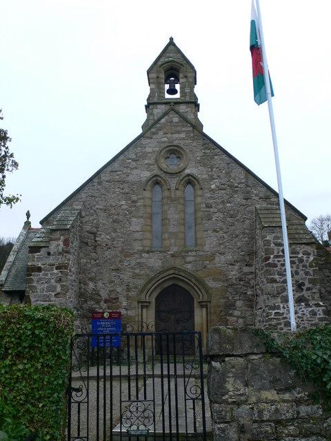The Parish Church of St Bridget & St Cwyfan, Dyserth
