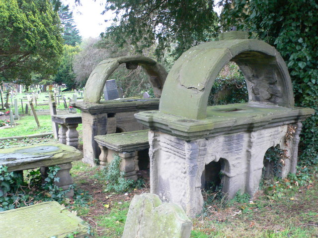 Tombs, Dyserth Parish Church