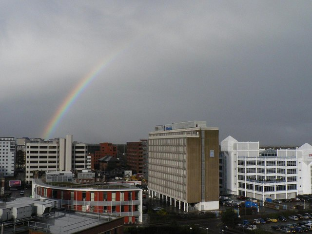 Rainbow over Bournemouth (1)
