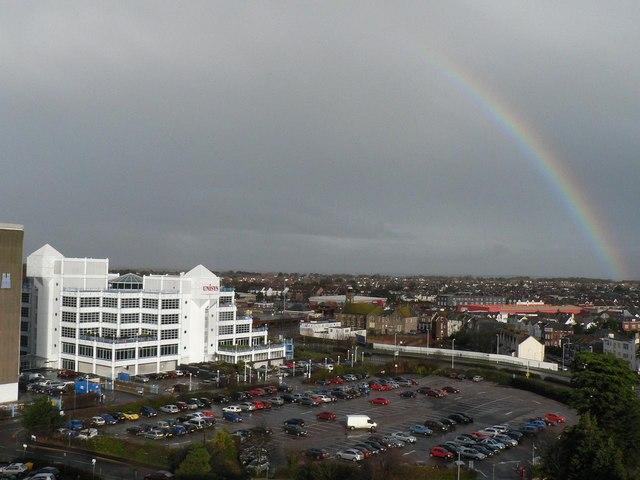 Rainbow over Bournemouth (2)