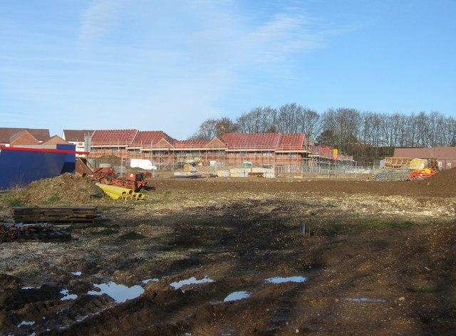 New housing estate takes shape