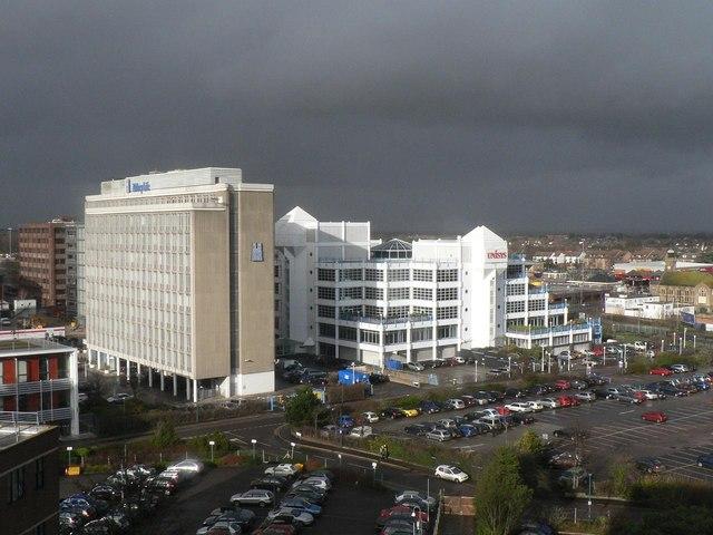 Bournemouth: threatening skies
