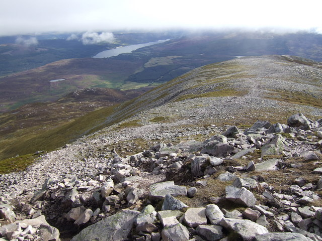 Eastern ridge of Schiehallion