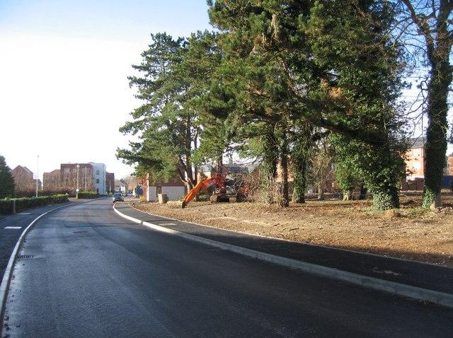 Park Prewett Road looking west