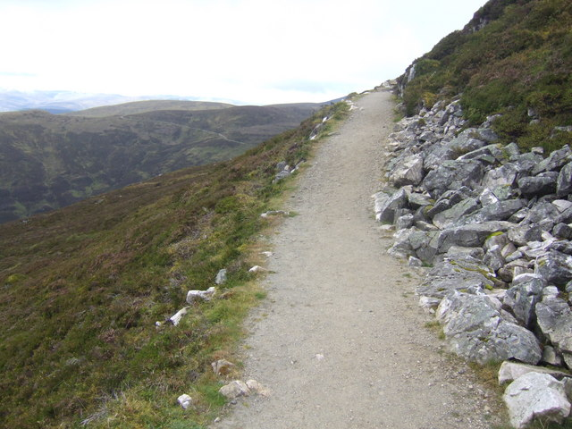 The new path up Schiehallion