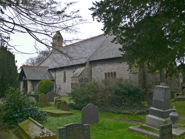 Churchyard, Dyserth Parish church