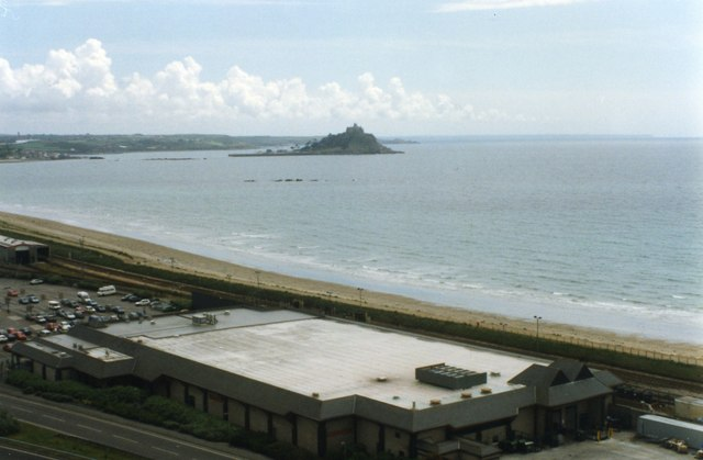 Penzance Heliport - View on Take Off