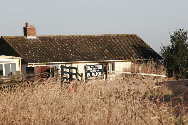 Bungalow beside River Waveney