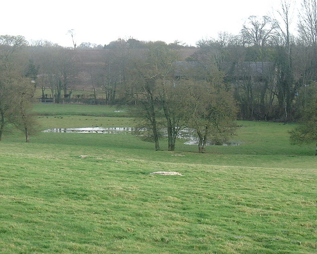 Barton Stacey -  Flooded Field