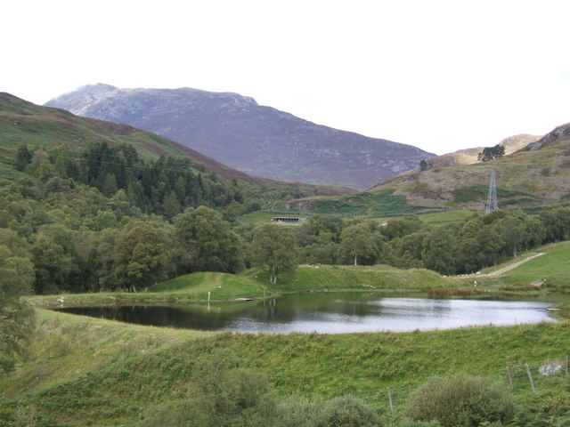 Lochan by the B846