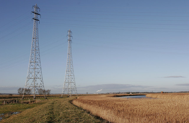Footpath beside River Waveney