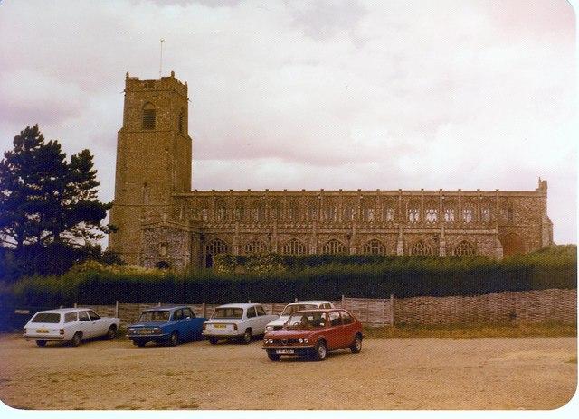Holy Trinity Church Blythburgh.