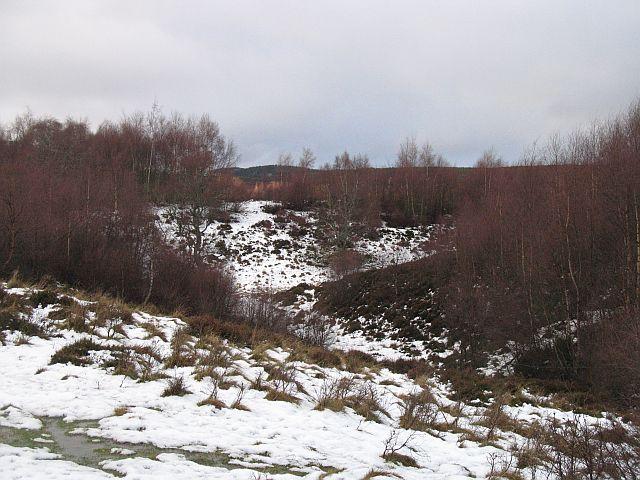Kettlehole terrain, Coille Phoineis