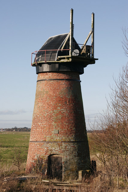 Toft Monks Drainage Mill
