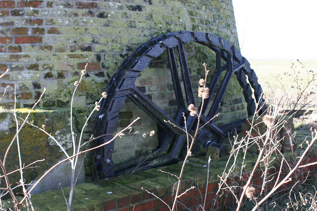 Wheel at Toft Monks Drainage Mill