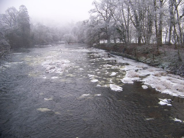 The River Clyde in Winter