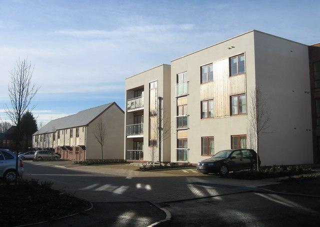 New apartment blocks & housing