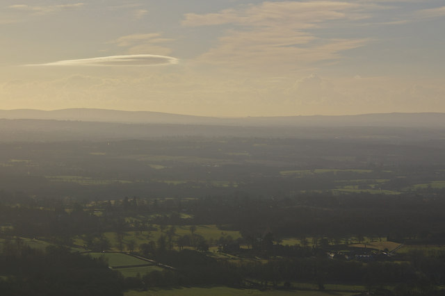 View south from Leith Hill Tower