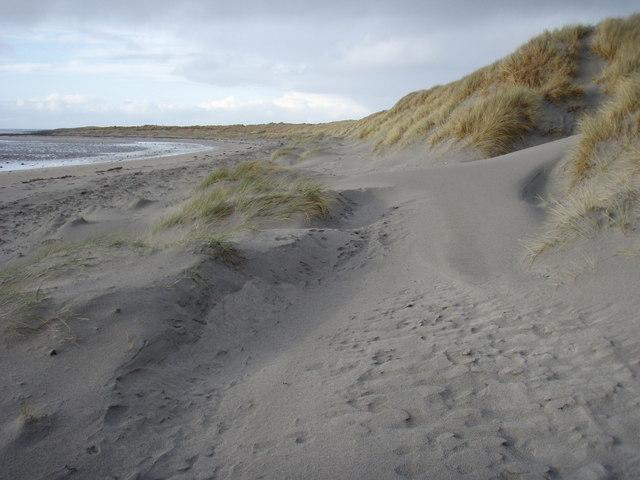 Dunes at Lùib Bhàn