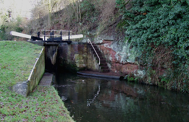 Rocky Lock, Staffordshire and Worcestershire Canal, near Ashwood